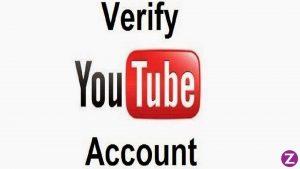 verify yutube account